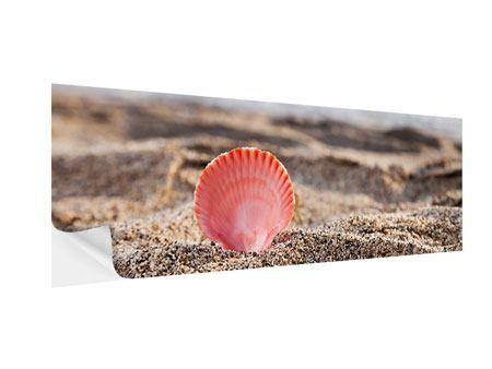 Klebeposter Panorama Die Muschel