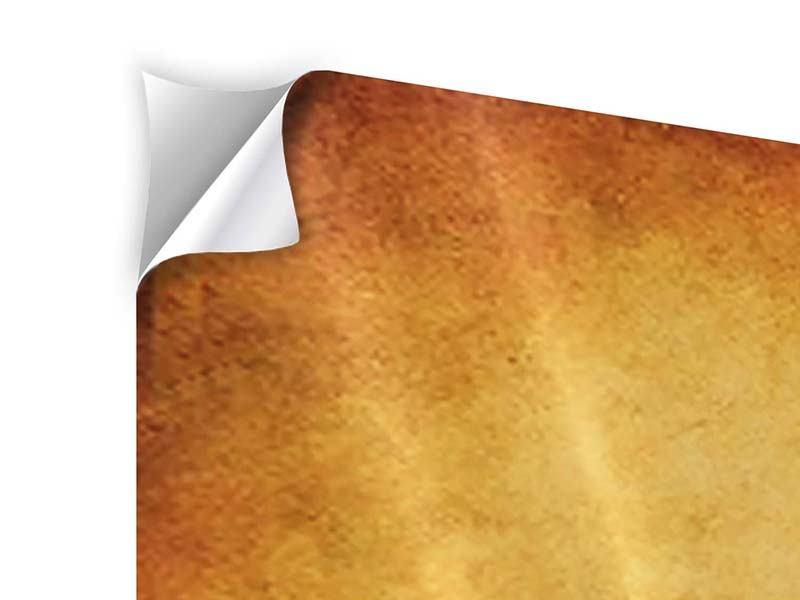 Klebeposter Panorama Sonnenuntergangsstimmung
