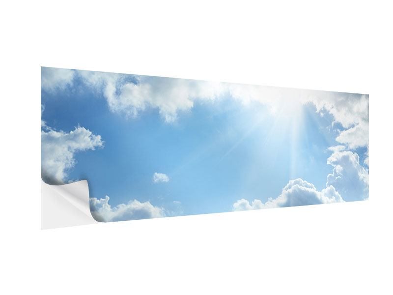 Klebeposter Panorama Himmelshoffnung