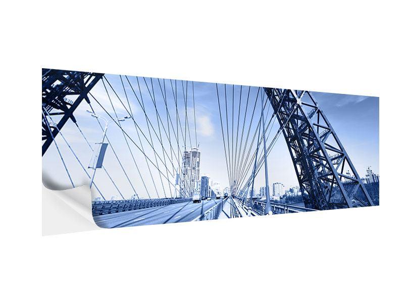 Klebeposter Panorama Schiwopisny-Brücke