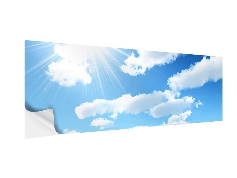 Klebeposter Panorama Am Himmel