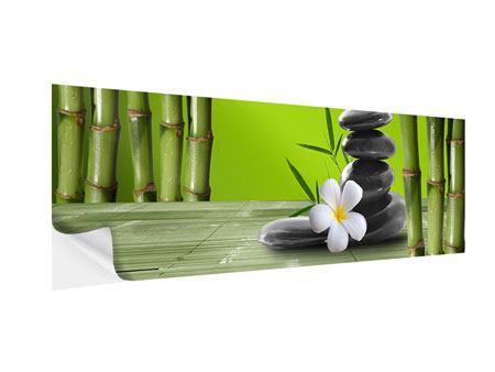 Klebeposter Panorama Der Bambus