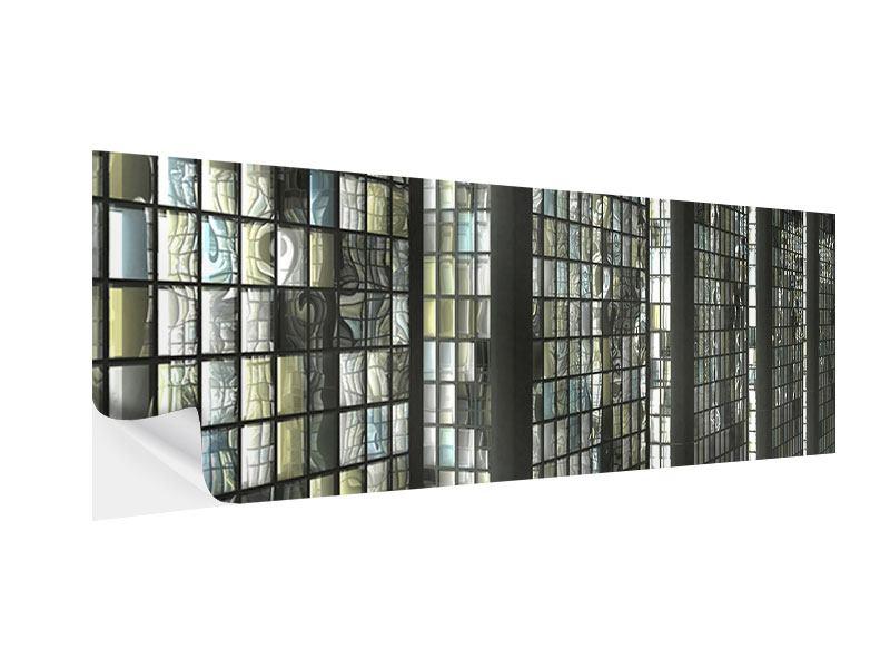Klebeposter Panorama Windows