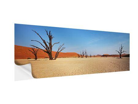 Klebeposter Panorama Wüste