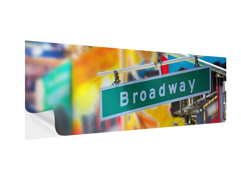 Klebeposter Panorama Broadway