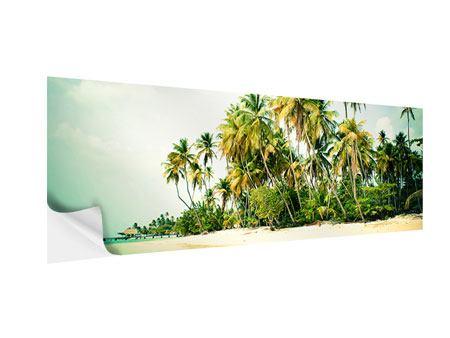 Klebeposter Panorama Tobago Cays