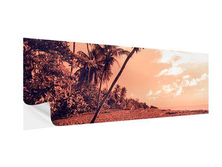 Klebeposter Panorama Tropenparadies
