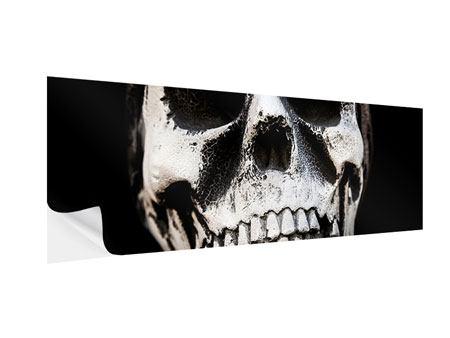 Klebeposter Panorama Skull