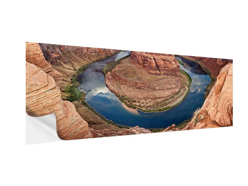 Klebeposter Panorama Horseshoe Bend
