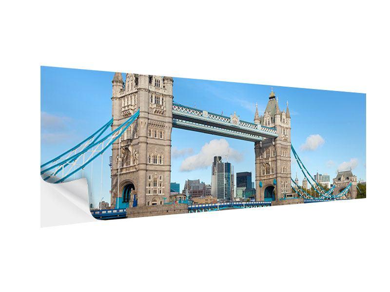 Klebeposter Panorama Die Tower Bridge