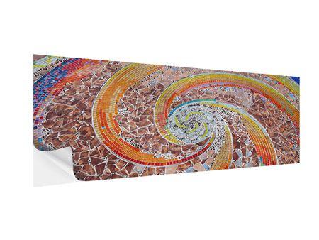 Klebeposter Panorama Mosaik
