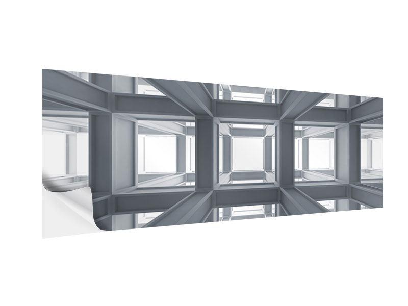 Klebeposter Panorama Räume