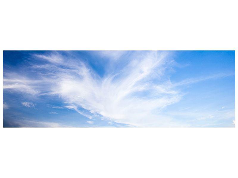 Klebeposter Panorama Schleierwolken