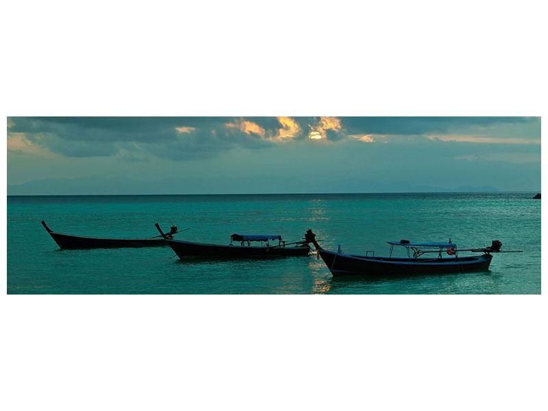 Klebeposter Panorama Ozean