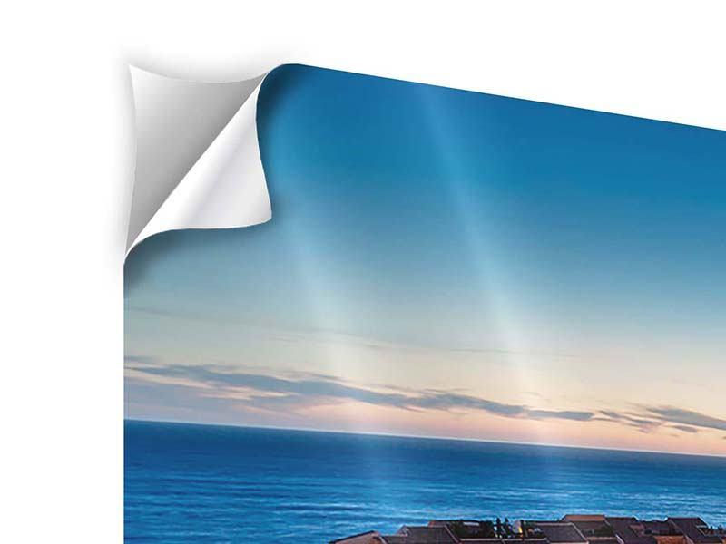 Klebeposter Panorama Monaco
