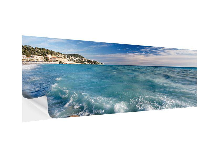 Klebeposter Panorama Cote D`Azur