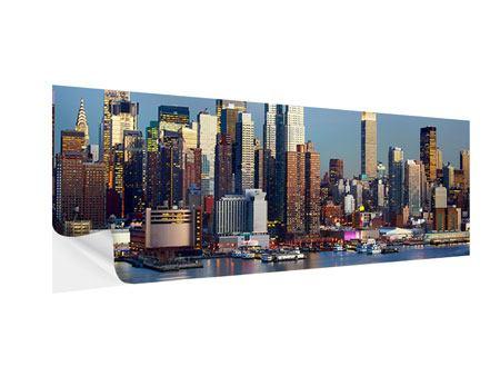 Klebeposter Panorama Skyline Midtown Manhattan