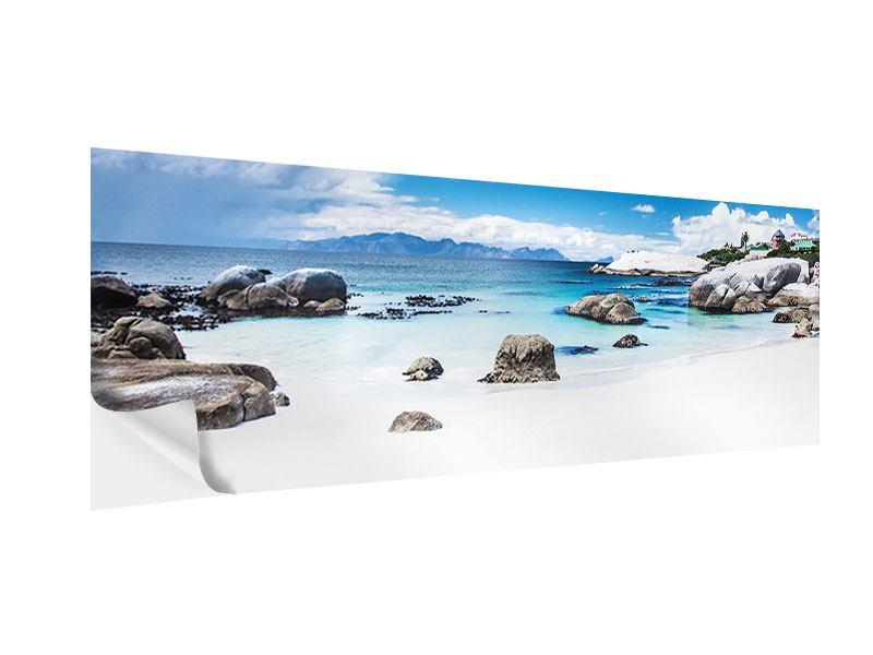Klebeposter Panorama Inselfeeling