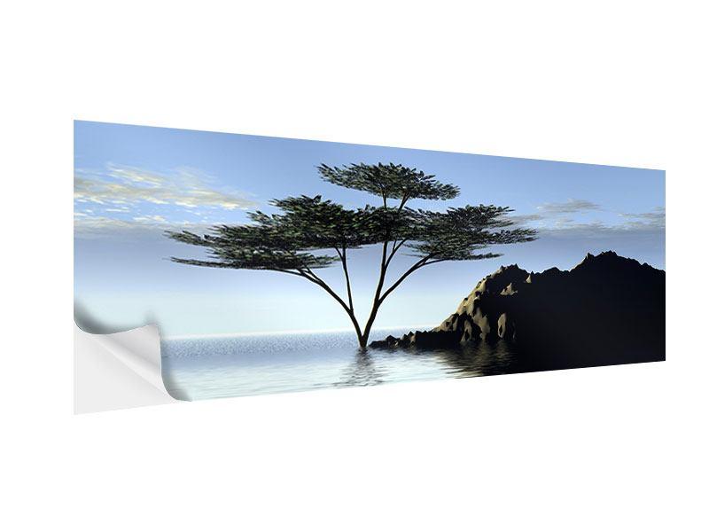 Klebeposter Panorama Naturfaszination