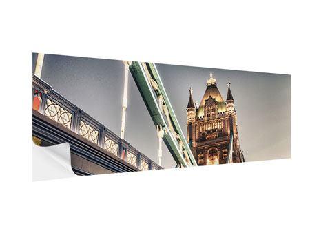 Klebeposter Panorama Tower Bridge XXL