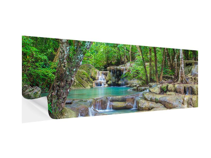 Klebeposter Panorama Wasserspektakel