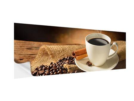Klebeposter Panorama Kaffeepause