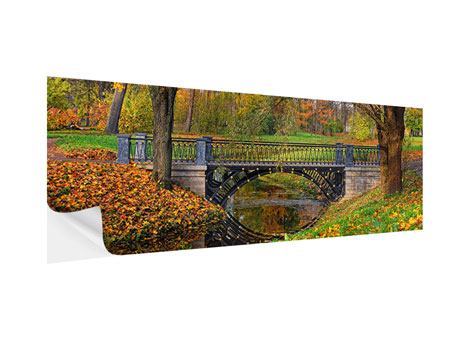 Klebeposter Panorama Romantischer Park