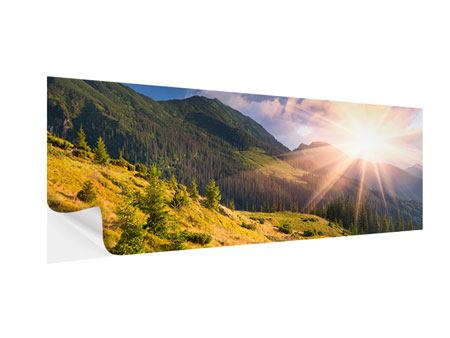 Klebeposter Panorama Herbstanfang