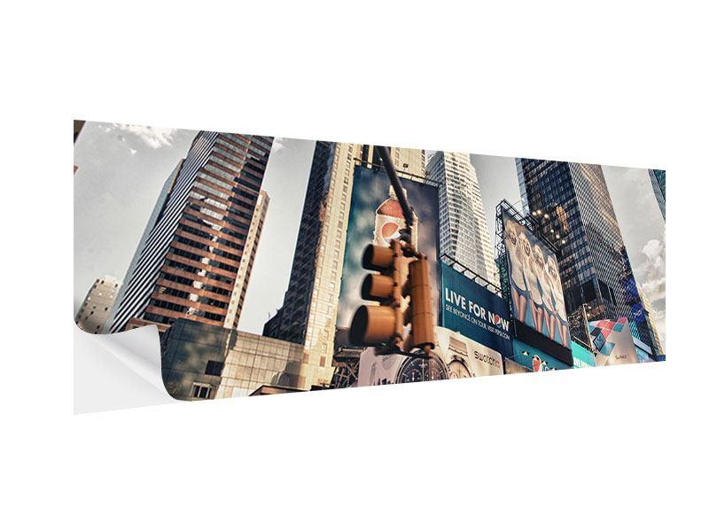 Klebeposter Panorama Times Square