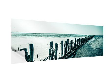 Klebeposter Panorama Das Wattenmeer