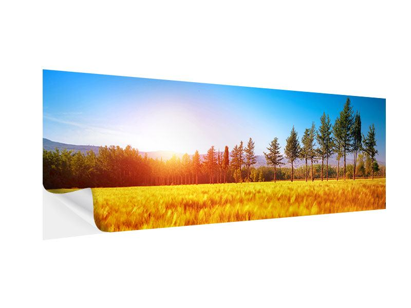 Klebeposter Panorama Der Herbst