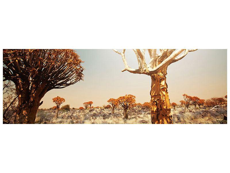 Klebeposter Panorama Afrikanische Landschaft
