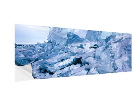 Klebeposter Panorama Eislandschaft Baikalsee