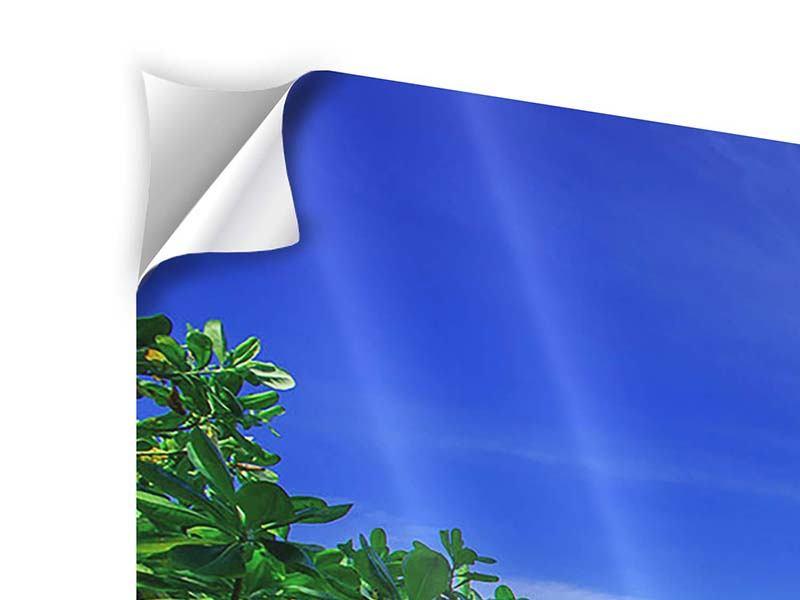 Klebeposter Panorama Similan-Inseln