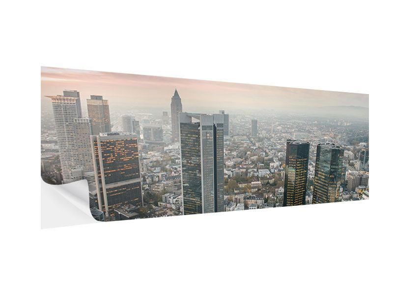 Klebeposter Panorama Skyline Penthouse in New York