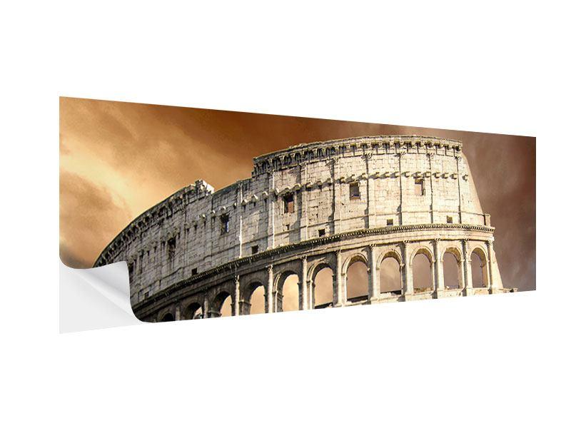 Klebeposter Panorama Kolosseum Rom