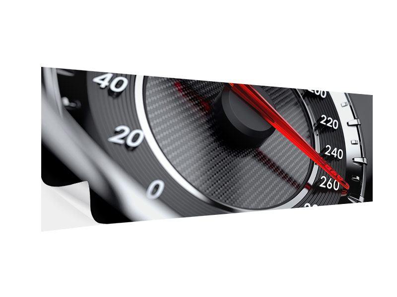 Klebeposter Panorama Geschwindigkeit