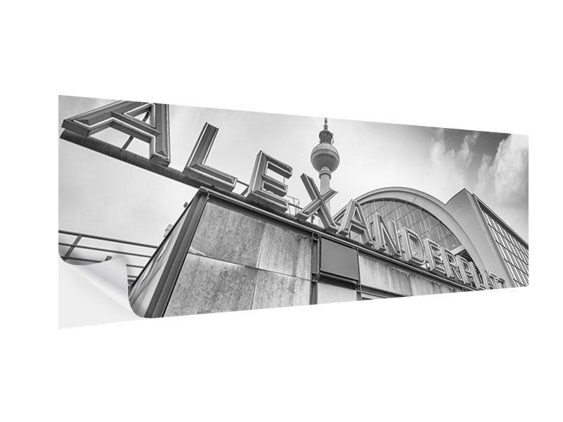 Klebeposter Panorama Alexanderplatz