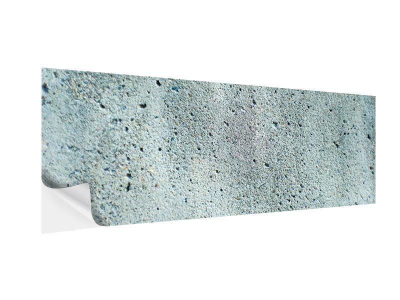 Klebeposter Panorama Beton in Grau