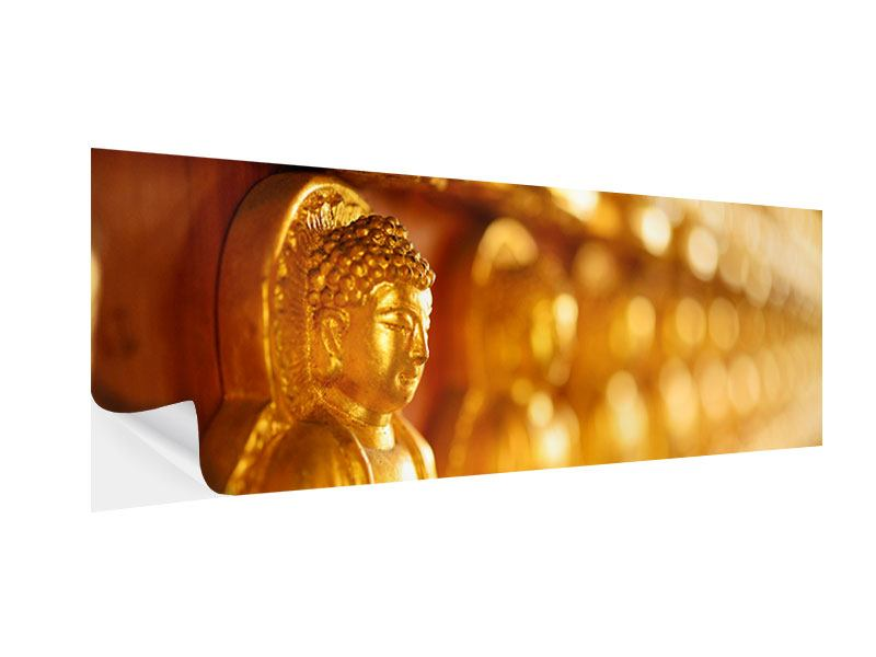Klebeposter Panorama Buddhas