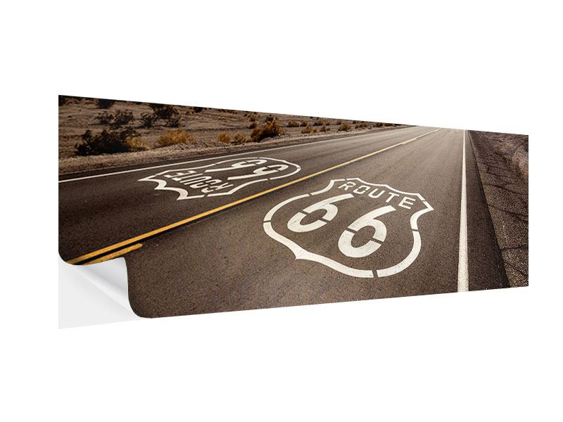 Klebeposter Panorama Route 66