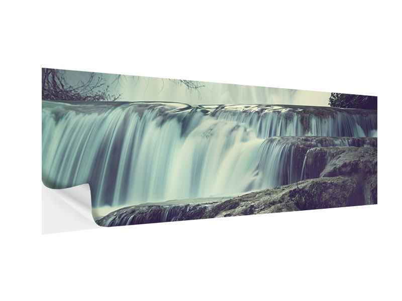Klebeposter Panorama Wasserfall Mexiko