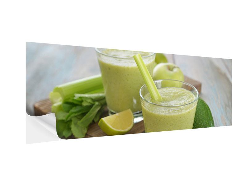Klebeposter Panorama Smoothie