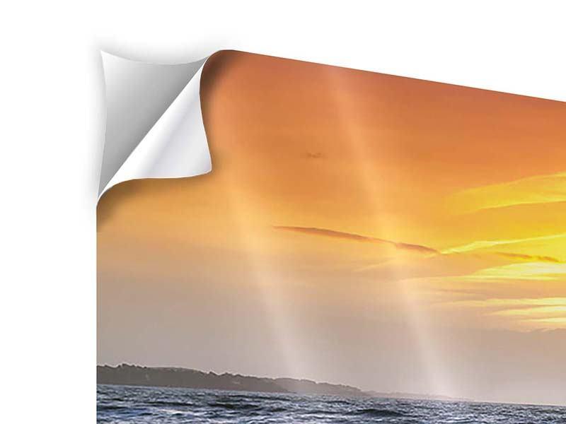 Klebeposter Panorama Das Meer