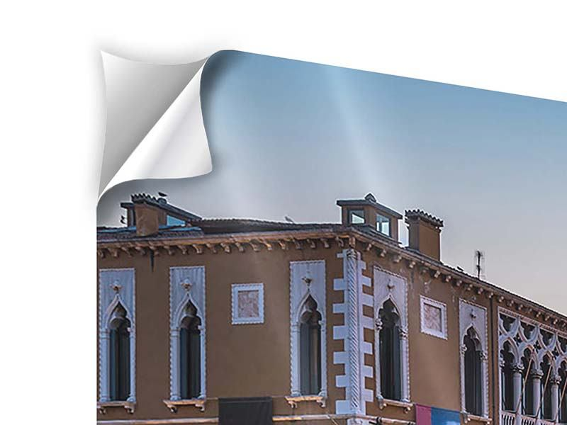 Klebeposter Panorama Romantisches Venedig