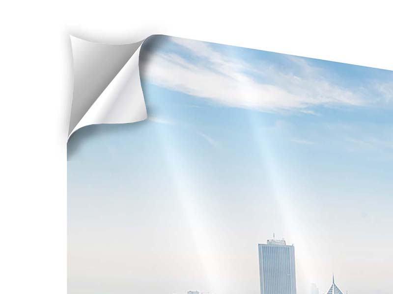Klebeposter 3-teilig Wolkenkratzer Chicago