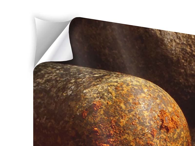 Klebeposter 3-teilig Chili