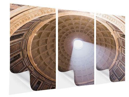 Klebeposter 3-teilig Petersdom