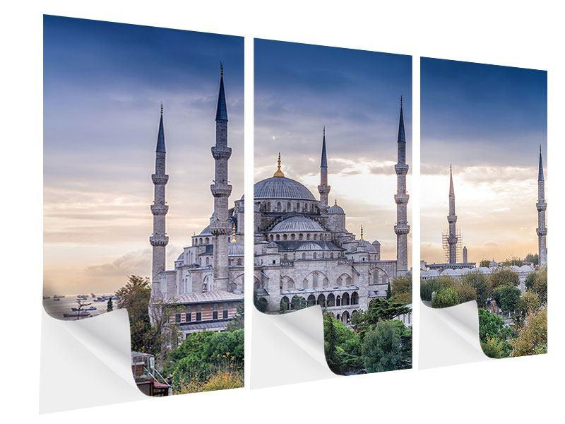 Klebeposter 3-teilig Istanbul