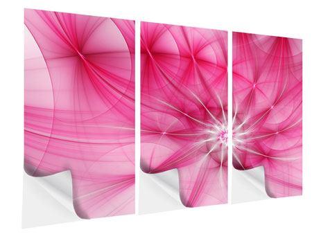 Klebeposter 3-teilig Abstrakt Daylight